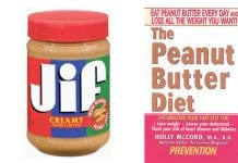 peanut butter diet