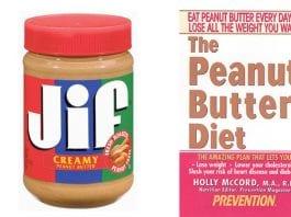 peanut butter diet