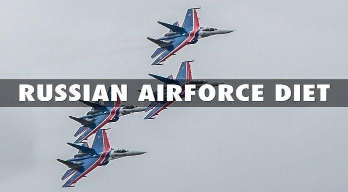 russian air force diet