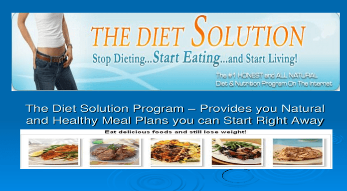 diet solution program