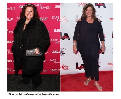ABBY LEE MILLER FAT LOSS
