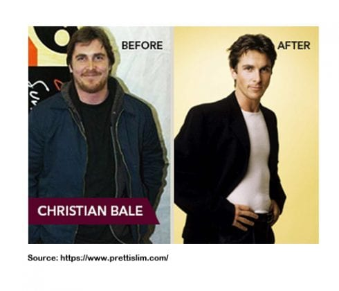 CHRISTIAN BALE WEIGHT LOSS