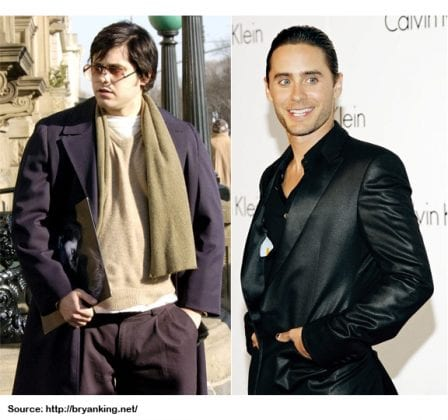 JARED LETO WEIGHT LOSS