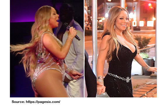 MARIAH CAREY WEIGHT LOSS PICTURE
