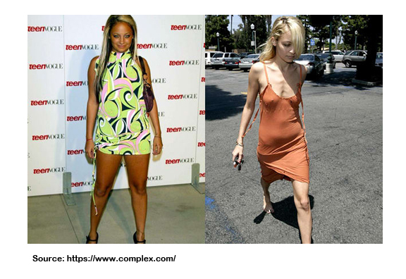 NICOLE RICHIE WEIGHT LOSS PIC
