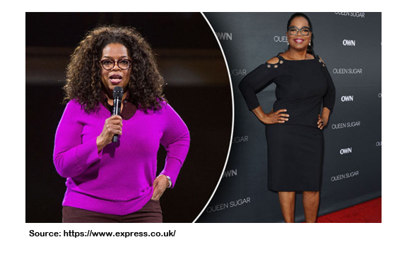 How Much Weight Has Oprah Lost?