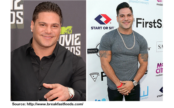 RONNIE MAGRO ORTIZ BEFORE AND AFTER WEIGHT LOSS PIC