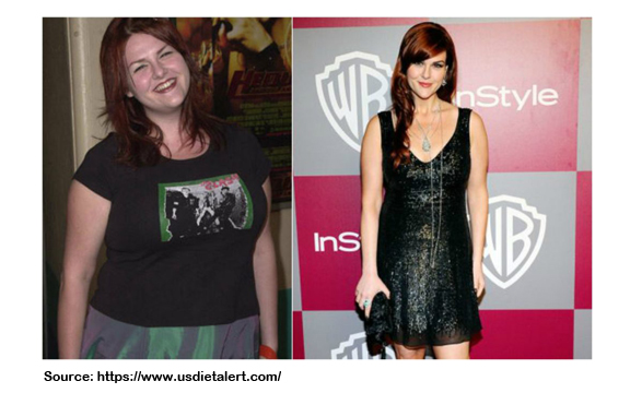 How Did Sara Rue Lose Weight?