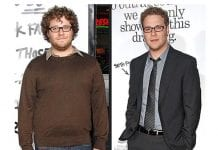 SETH ROGEN FAT LOSS BEFORE AND AFTER