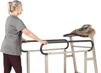This is the EXERPEUTIC TF2000 treadmill