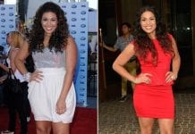 how did jordin sparks lose weight