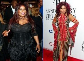 how did chaka khan lose weight