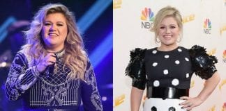 how is kelly clarkson losing weight