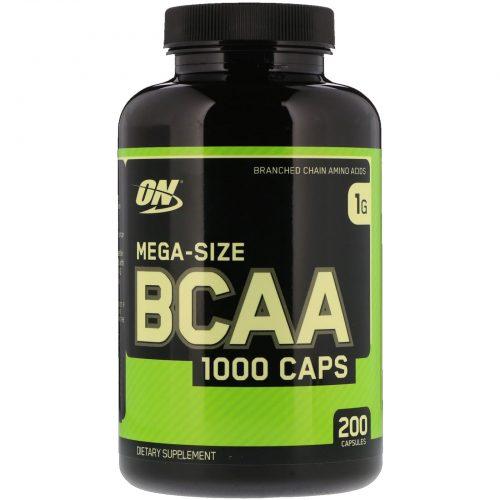 Optimum Nutrition 1000 BCAA Capsules